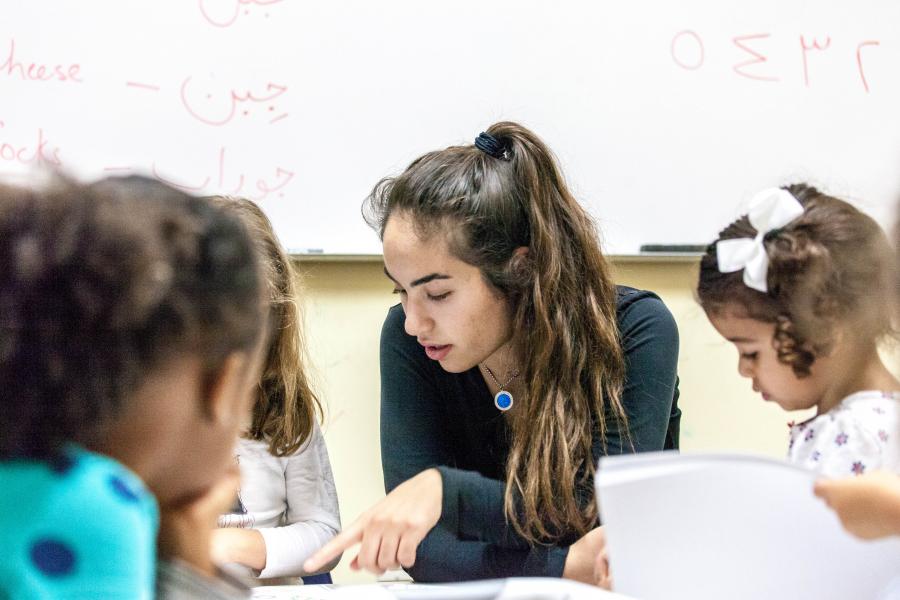 Zada tutors Syrian refugees, embraces Kurdish identity