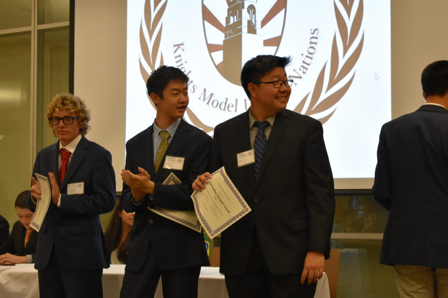 Despite setbacks, MUN wins at Knights Invitational
