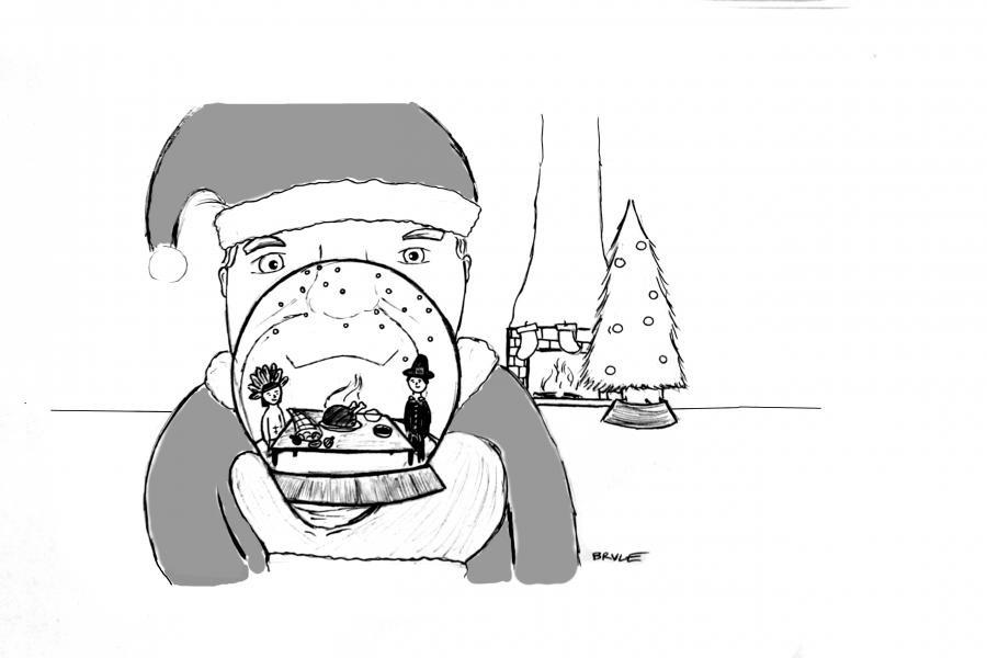 Christmas Creep hijacks holiday season–you're next, Halloween
