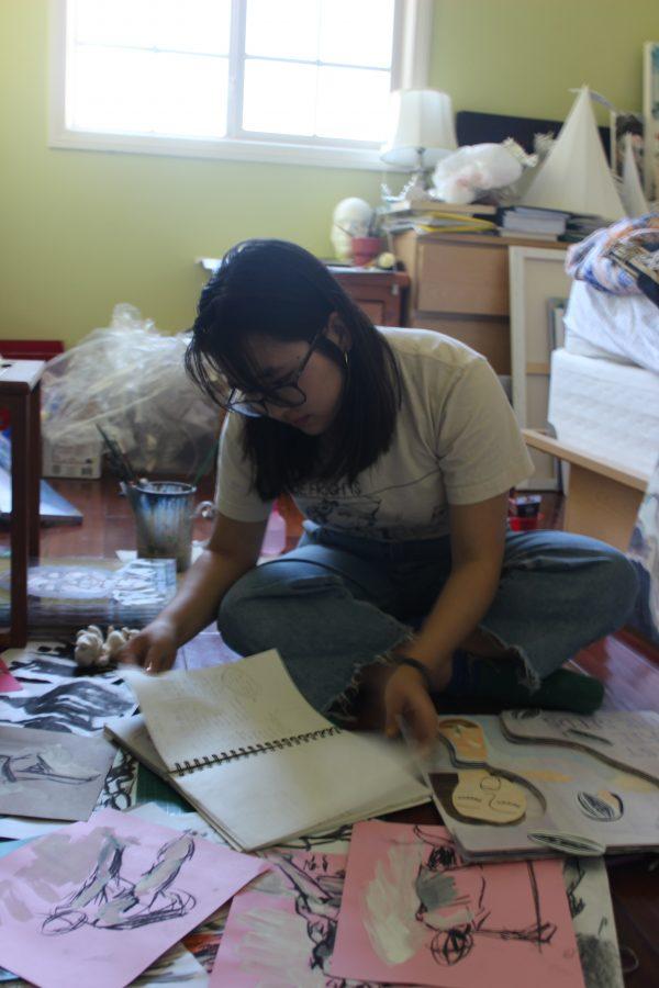 Qiao interns for art platform