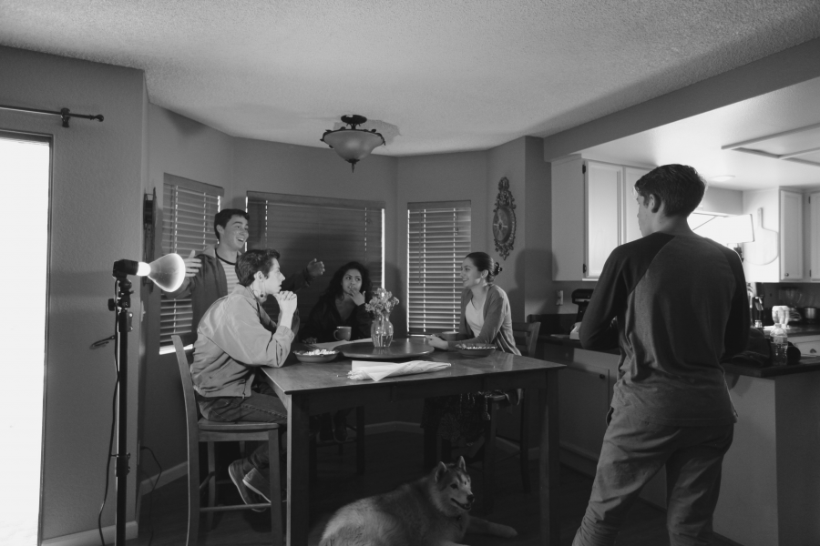 Film club writes, shoots first film '12-31-82'