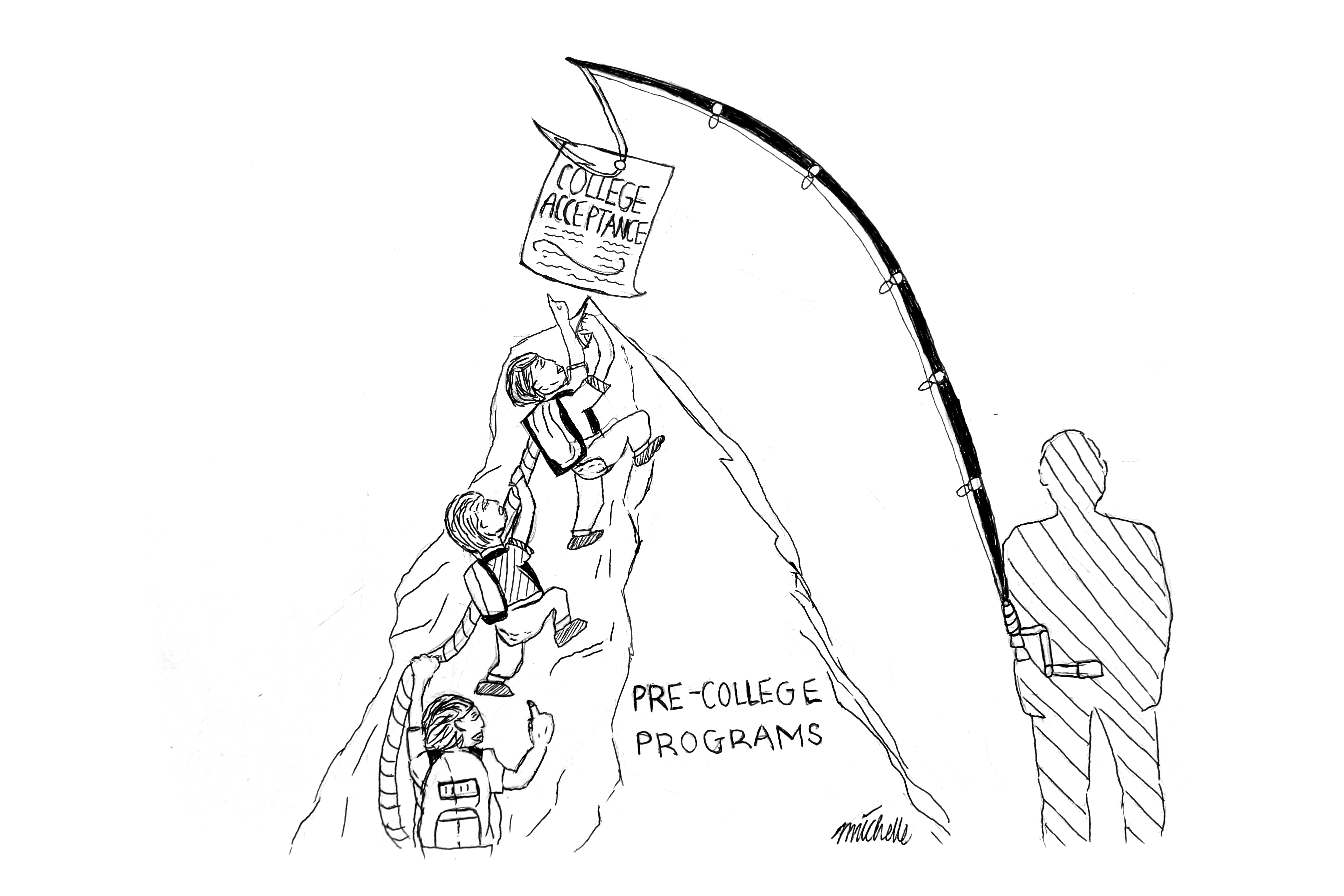 Pre-college programs make no guarantees