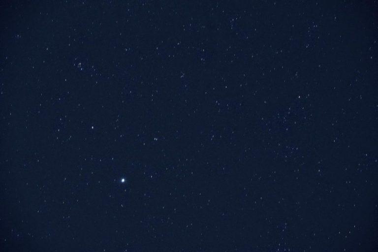 The star Vega in its constellation Lyra