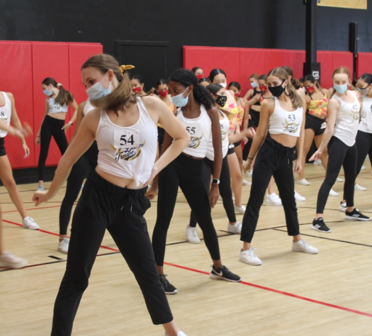 Dance Troupe reconnects with team at WCE Convention