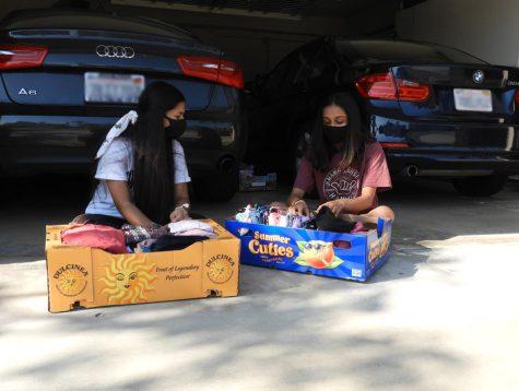 Narayanan, Paryani, Sengupta hold clothing drive to support wildfire victims