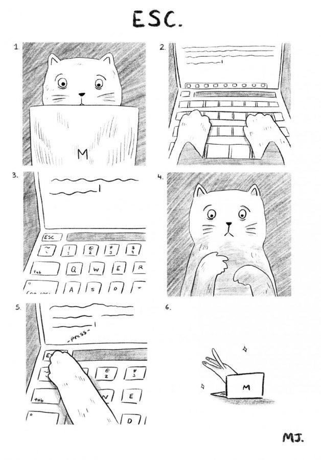 Cartoon by Michelle Jin