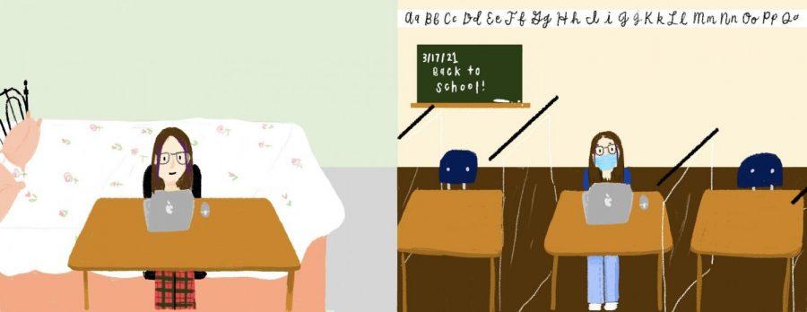 Opinion: My awkward first day of school
