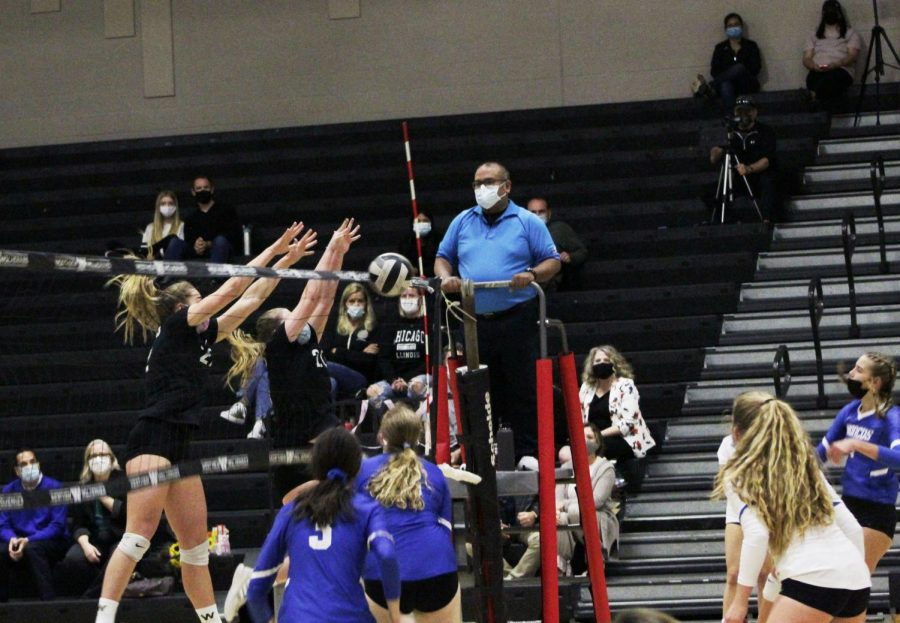 Girls volleyball closes brief season with win against Patrick Henry