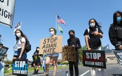 Awareness for Change club organizes Anti-AAPI hate protest, encourages community solidarity
