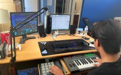 Reyes synthesizes world through producing music