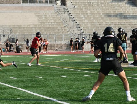 Football prepares for home game against Mater Dei