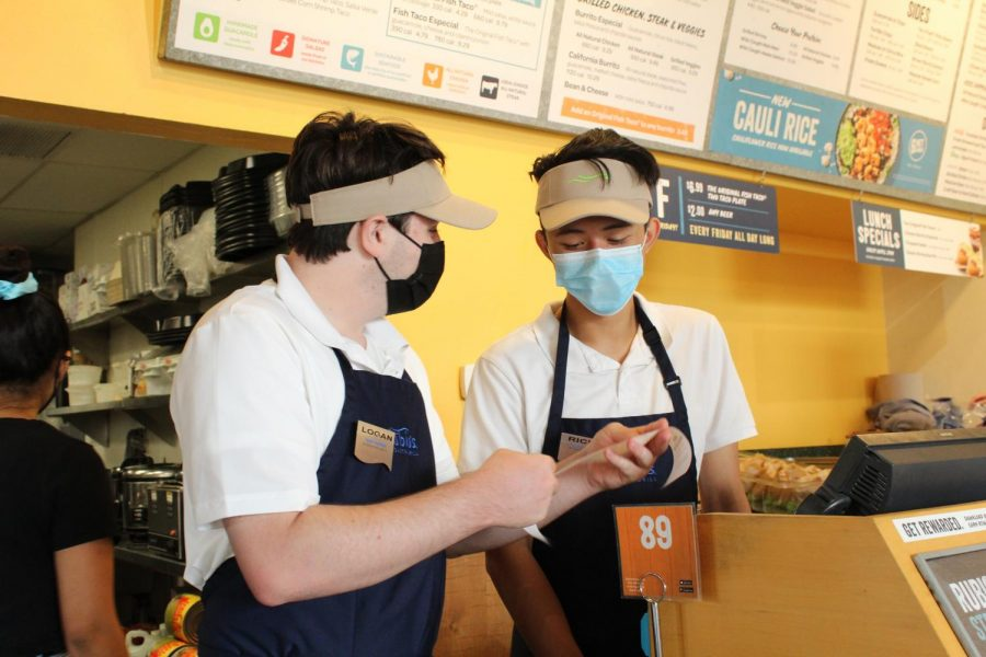Zhao, Henry bond together over part-time service jobs at Rubios