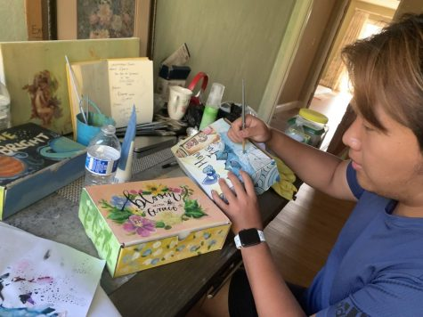 Students organize non-profit, create art to empower youth