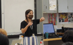 Alumni DelaCruz shapes style of teaching around experience