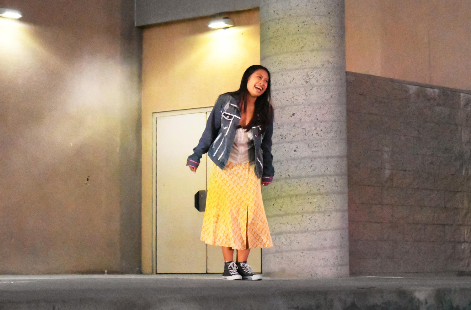 """Cassandra Nguyen (12) performs """"Ireland"""" from Legally Blonde. Photo by Katie Lew."""