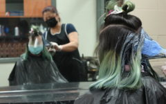 Students experiment with colorful hair changes, develop stronger sense of self